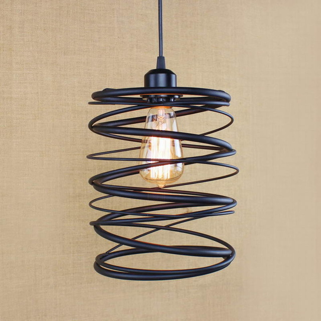 Vintage Industrial Retro Pendant Lamp Restaurant Bar Bookstore Edison Loft spring Style Light