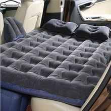 купить Car travel bed  Multifunctional Car inflatable bed car accessories SUV Inflatable outdoor camping Car tent for car онлайн