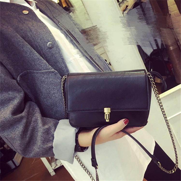 2015 New Fashion Women Bag Leahter Handbags Small Messenger Bolsa Feminina Crossbody Shoulder Bags  Bolsos Famous Brands Lady 011