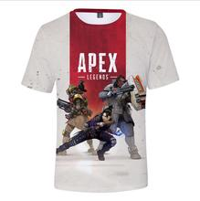 New 3D T-shirt Apex Legends Hot Game Round neck Men/Women Summer Casual Sweatshirts