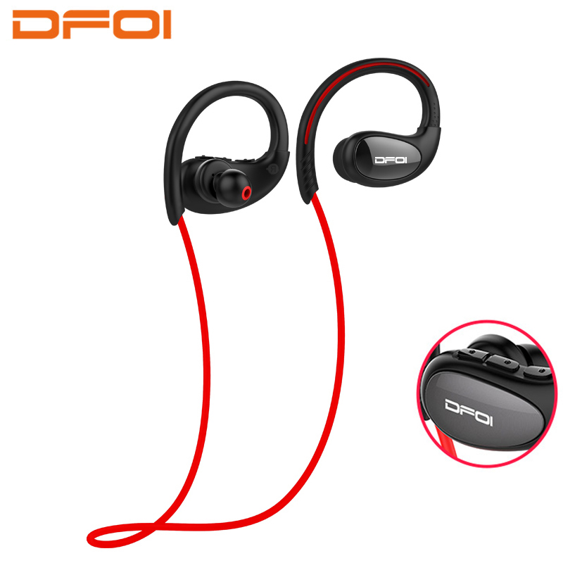 DFOI Bluetooth Earphones Wireless Headphones Sports Headset Neckband Earpiece Bluetooth Stereo Headphone For Android IOS Xiaomi ttlife stereo sports earpiece hands free earbuds wireless earphones bluetooth with microphone for xiaomi android phone