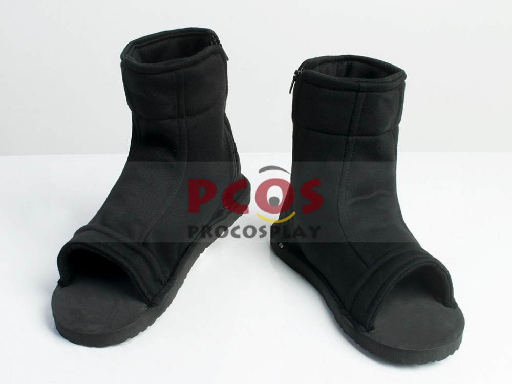 Fashion Naruto Black N i n - j a Shoes Shinobi  shoes Cosplay boots mp000563