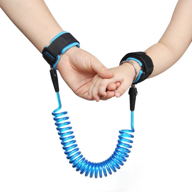 Baby Anti Lost Safety Wrist Link Toddler Safety Leash Strap Soft Wristband Anti Lost Bracelet Baby Safet Length 1.5/2/ 2.5m