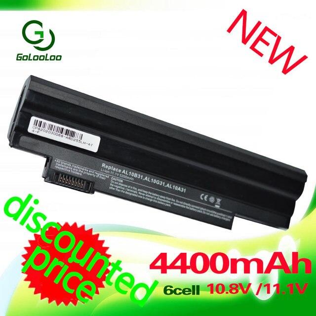 4400мач аккумулятор ноутбука для  Acer Aspire One 522 D255 722 AOD255 AOD260 D255E D257 D257E D260 D270 E100 AL10A31 AL10B31 AL10G31
