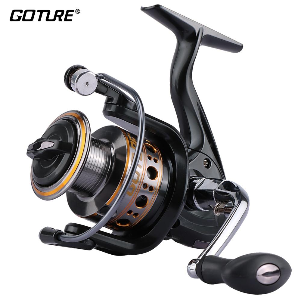 Goture Spinning Reel Fishing Reel 1000 7000 Series Boat Rock Carp Fishing Wheel Aluminum Spool