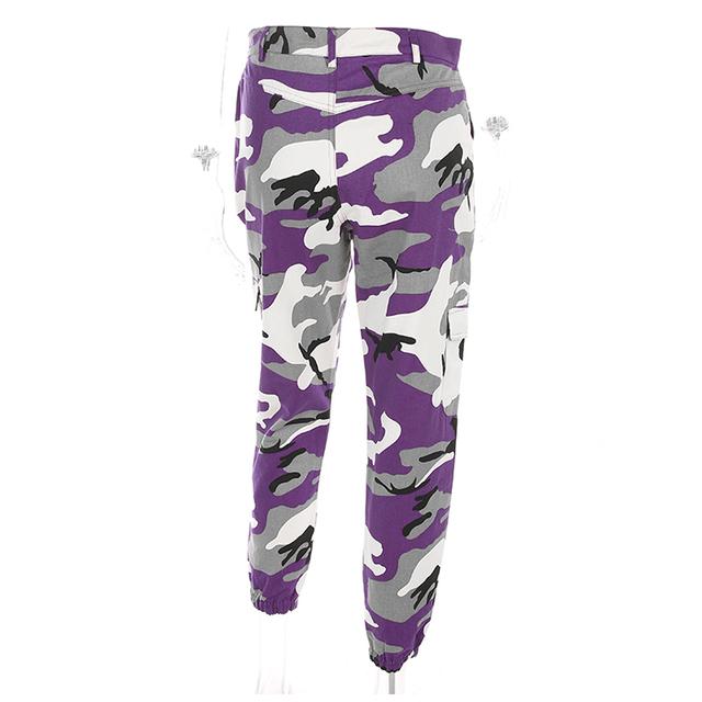 Gigi Camouflage Jogger Pant