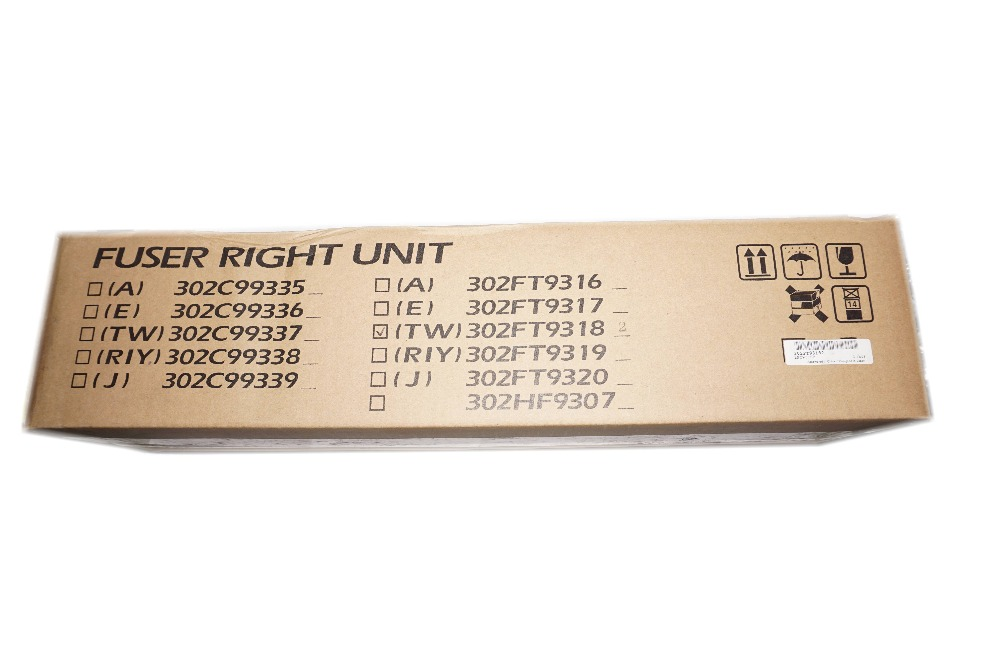 New Original Kyocera 302FT93182 FUSER RIGHT UNIT for:KM-1635 2035 new original fk3130 fuser unit for kyocera fs3900dn fs 4000dn 120 volt