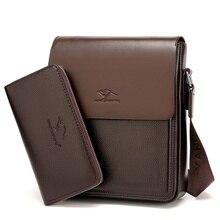 HONGYANDAISHU (mit eine Brieftasche) marke Tasche Männer Messenger Bags herren Umhängetasche Mann Schulranzen bolsos männer Reise Umhängetaschen
