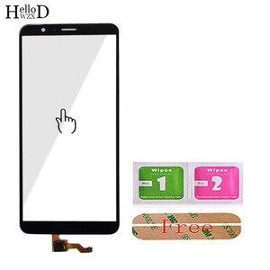Image 5 - 5.93 נייד מגע מסך זכוכית עבור HuaWei Honor 7X מגע מסך קדמי זכוכית Digitizer פנל עדשת חיישן כלים משלוח דבק