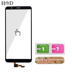Image 5 - 5.93 de Vidro Da Tela De Toque Móvel Para HuaWei Honra 7X Touch Screen Frente Digitador de Vidro Da Lente Painel Sensor de Ferramentas Livre adesivo