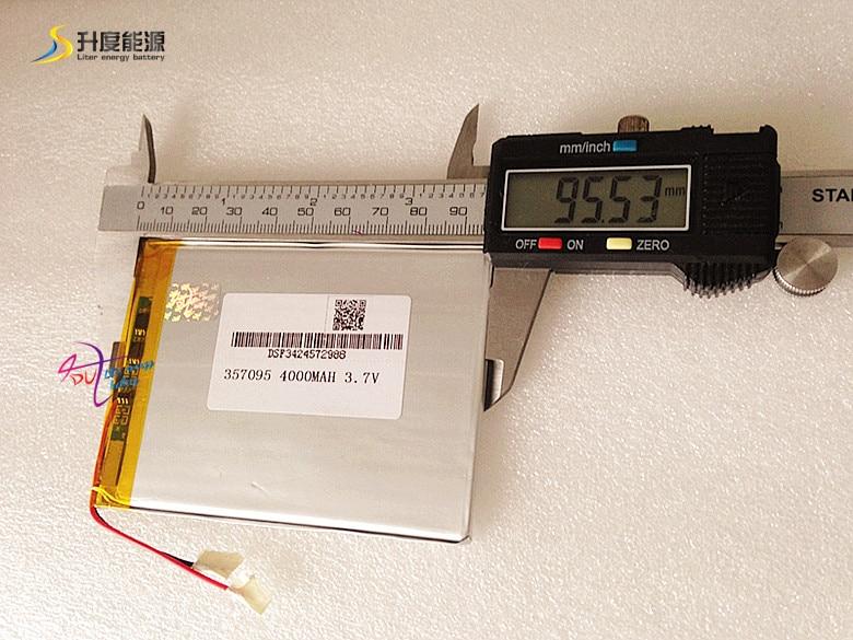 3.7 V 4000 mah (polymère au lithium ion batterie) Li-ion batterie pour tablet pc 7 pouce MP3 MP4 [357095] livraison Gratuite