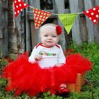 Red Tutu Fluffy Tulle Kids Children Girl Skirt Toddler Baby Mini Costume Ball Gown Party Ballet