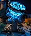 Envío Libre Juguetes Leyenda escala 1:1 Iron Man Arc Reactor con Luz LED Iron Man 3 PVC Figura de Acción de Juguete IR002