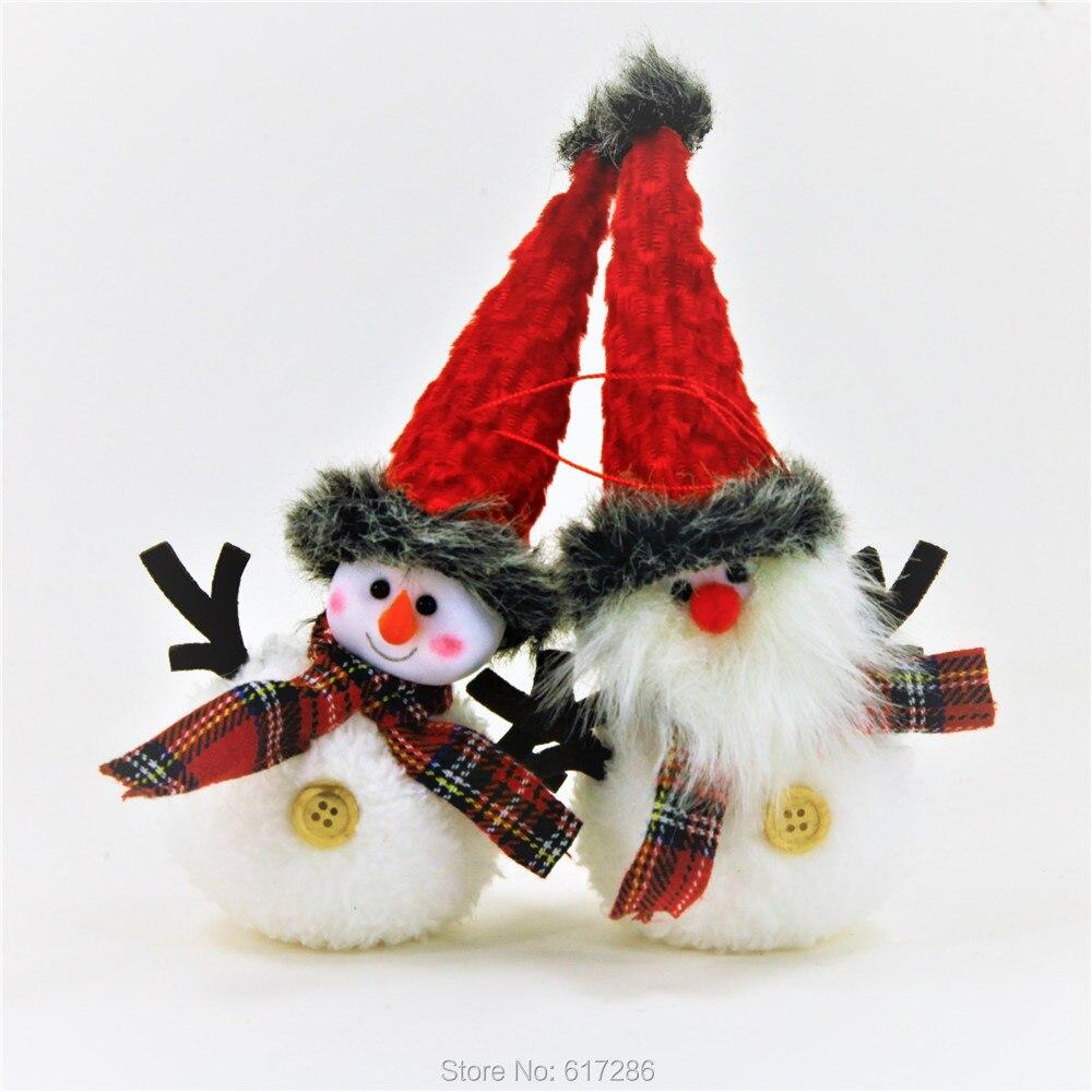 Free Shipping 4pcs Lot Lovely Handicraft Christmas Tree Ornaments