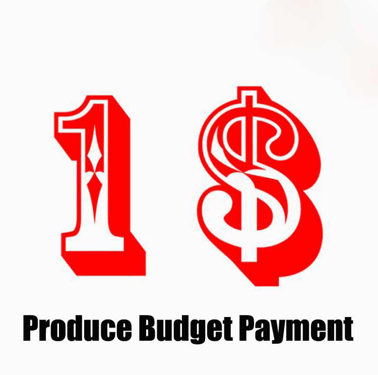 Producte Budget Payment/Fill The Postage/Price Difference