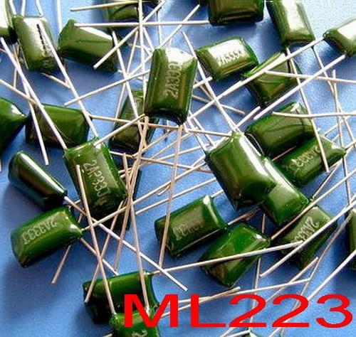 ( 20 pcslot ) 22nF Polyester Poly Film Capacitor,223,100V,5%.