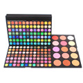 Pro 183 Colors Combo 3 Layer Makeup Palette Kit 168 Eyeshadow 15 Color Blusher Makeup Artist Set Cosmetic