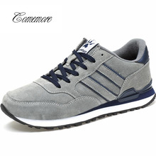 Comemore Pu Leather Men'S Sneakers Male Shoes Adult For Running Shoe
