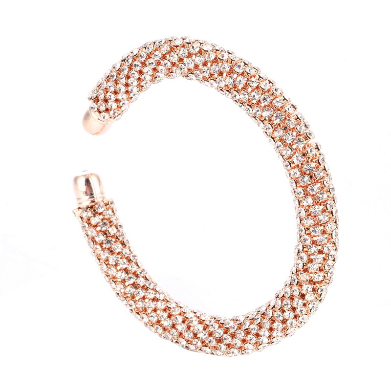 LOVBEAFAS Fashion Luxury Cuff Bracelets & Bangles For Women Crystal Rhinestone Vintage Bracelets Fine Jewelry Accessories 7