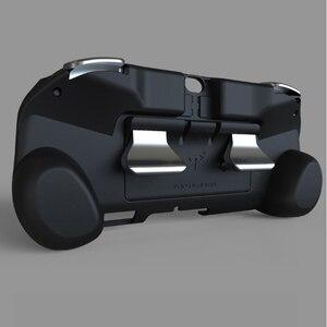 Image 4 - 2in1 kılıf kapak PSV 1000 kolu L2 R2 tetik L3 R3 tetik PS VITA 1000 Slim oyun konsolu için ps4 pc Gamepad aksesuarları