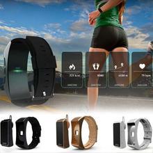 Relojes inteligentes Deporte Podómetro Bluetooth Reloj de la pantalla Táctil Inteligente de vigilancia de la salud Electrónica rastreador de Ejercicios relogio C