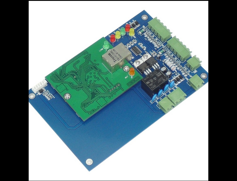 ФОТО WG access one door Access Control Board with TCP/IP communication/RJ45 single door access controller(no power supply cabinet)