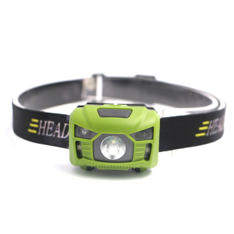Headlamp Flashlight Bright White Led + Red Light, Perfect for Runners, Lightweight, Adjustable Headband sport car style 2 led white light flashlight keychain w sound effect red 4 x lr41