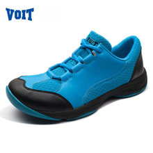 VOIT 2016 Outdoor Running Shoes Breathable Wear Non-slip Running Sneakers Mesh Super Light Sports Traning Shoes 61M6425