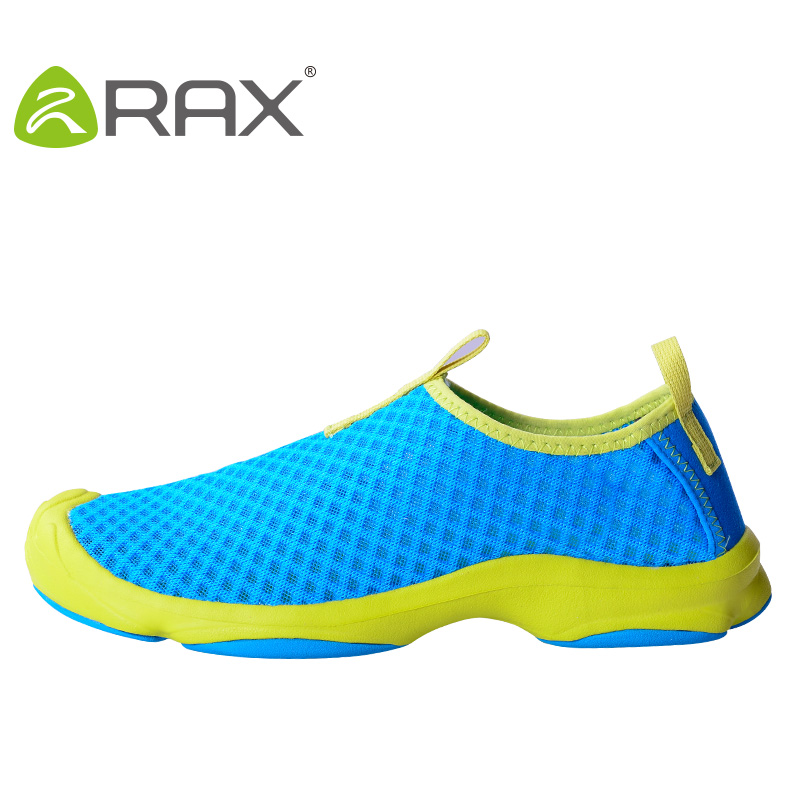 Rax 2017 Summer Breathable Outdoor Trekking Shoes For Men and Women Quick drying Lightweight Hiking Waking Wading Shoes Sport