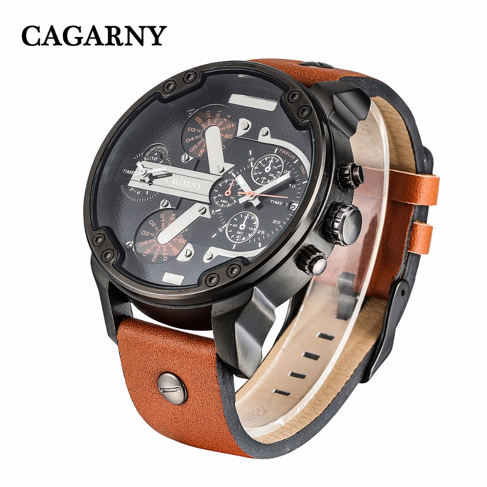 classic design dual time zones military watches for men watch drop shipping wristwatches auto date (7)
