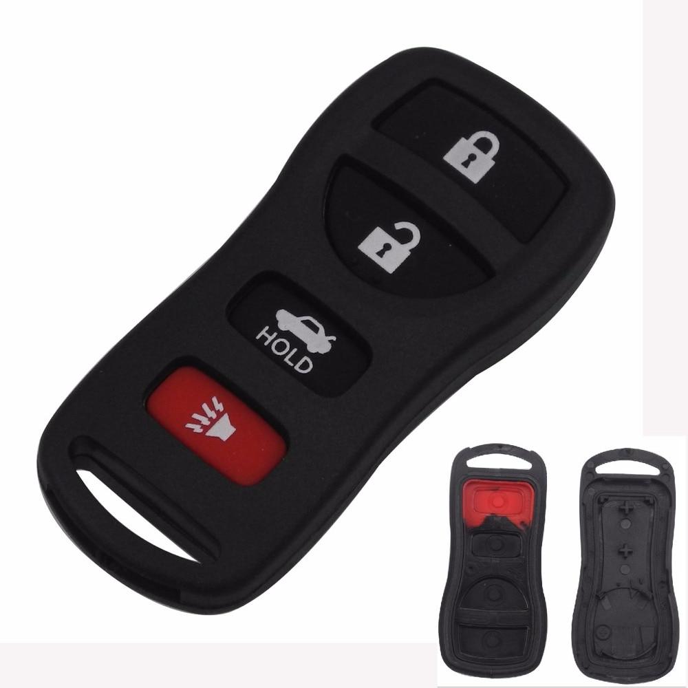 jingyuqin Remote Car Key Cover Case Fob For Nissan Sentra Armada 350Z Altima Maxima Infiniti FX35 EX35 FX45 QX56 G35 M45 I35 тормозной диск dba x gold 2308x nissan 350z auto 41825 murano 03 07 infiniti g35 2d 4d auto 4 пер