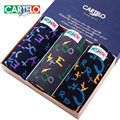 Cartelo men's underwear cotton shorts U convex boxer Multi color printing breathable gift set boxed underwear