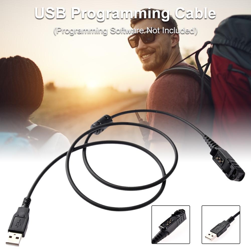 Cable de programación USB para Motorola Radio portátil DEP550 DEP570 DP2000 DP2400 DP2600 Walkie Talkie Accesorios