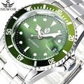 2017 sewor homens relógios de pulso de aço inoxidável data auto top esporte marca de luxo relógio mecânico automático relógios militares do exército