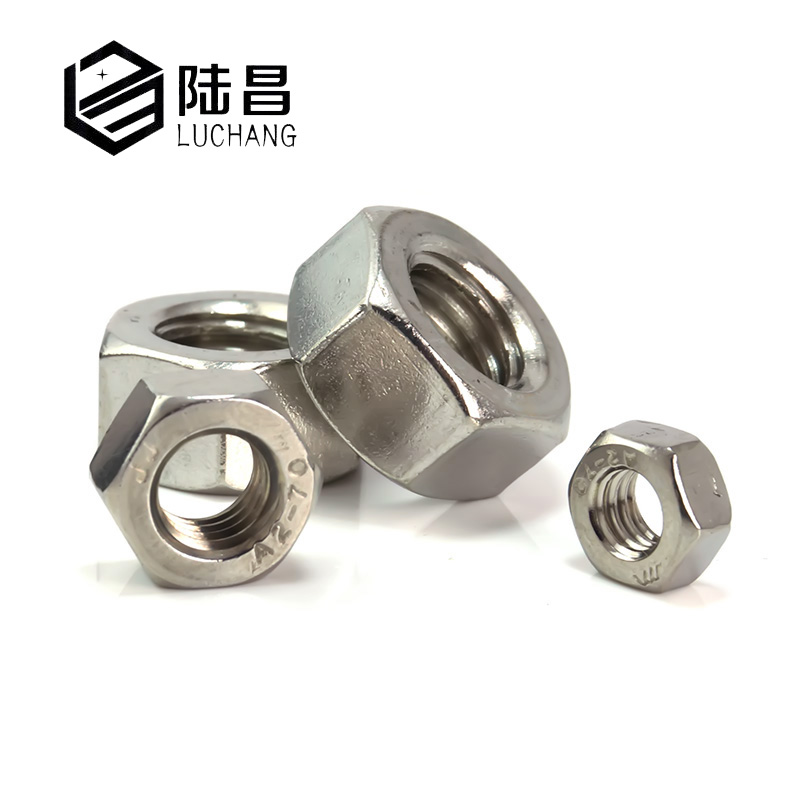 LUCHANG 130Pcs M2 M3 M4 Stainless Steel Hex Nut Hexagon Nuts Metric Thread Suit For Screws Bolts zenhosit 420pcs m2 m3 m4 304 stainless steel 12sizes hexagon hex hardware cylinder cup machine screws m2 m3 m4 nuts kit with box