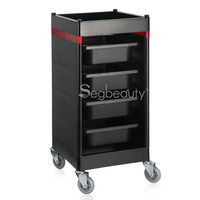 Hair Salon Trolley Cart, Storage Containers Utility Cart for Beauty Salon Spa Barber Shop, Drawer Organizer Trolley