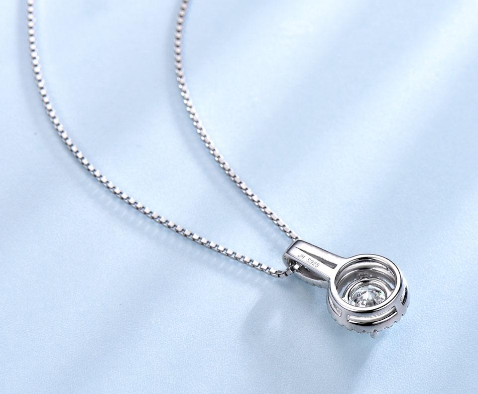 UMCHO CZ 925 sterling silver jewelry set for women S022Z-1 (6)