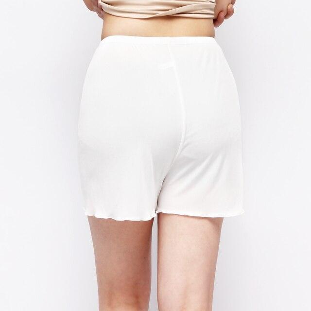 Трикотажные шелк двусторонний женские шелковые трусы пижамные штаны