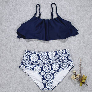 High Waist Swimsuit Bikini 2018 Beachwear Women Brazilian Bikinis Set