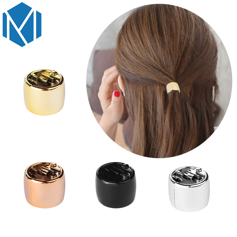 Headband Ponytail-Holder Hair-Ring Scrunchy-Hair-Band Plastic M Mism Women Openable-Light