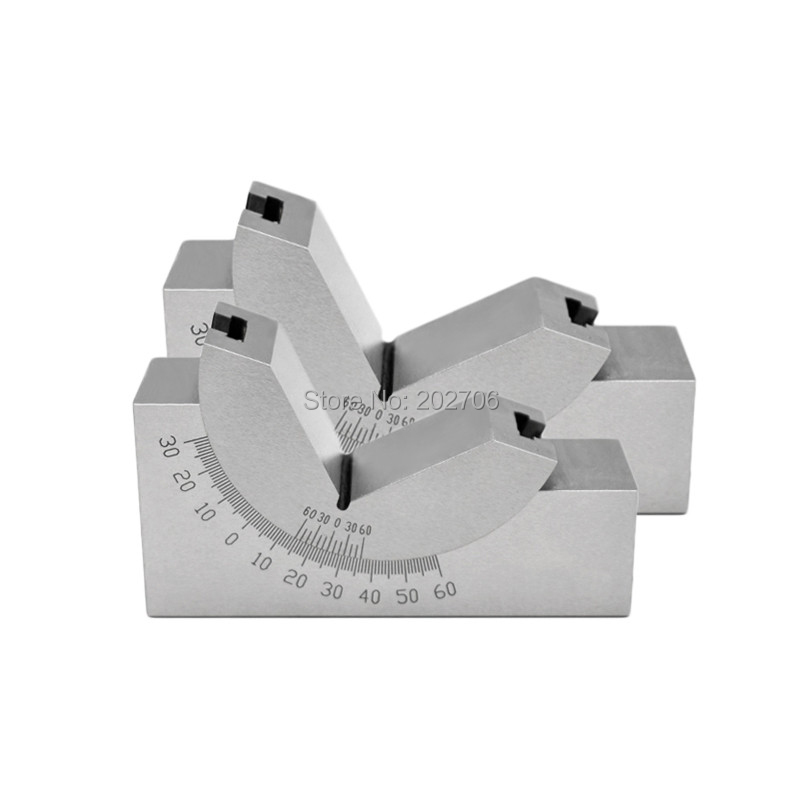 AP30 Precision 0 60 degree angle plate Angle block angle gauge Adjustable Angle V Block Milling
