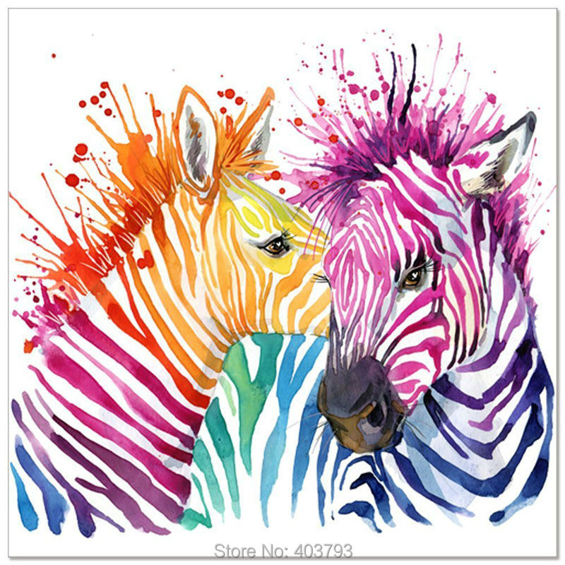 Zebra Art Abstract