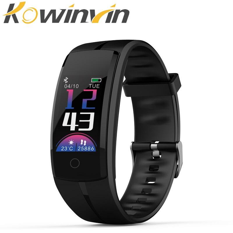Qs100 Smart Armband Smart Uhr Blutdruck/herz Rate Monitor Fitness Tracker Armband Android Ios Smart Armband Intelligente Armbänder