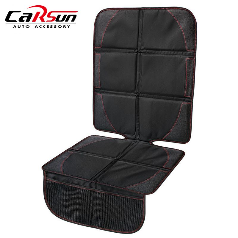 Preimum Car Seat Protector baby Car Seat Protection Pad Thick Seat Mat Pad Cover With Pockets, Waterproof Material Easy to Clean ...