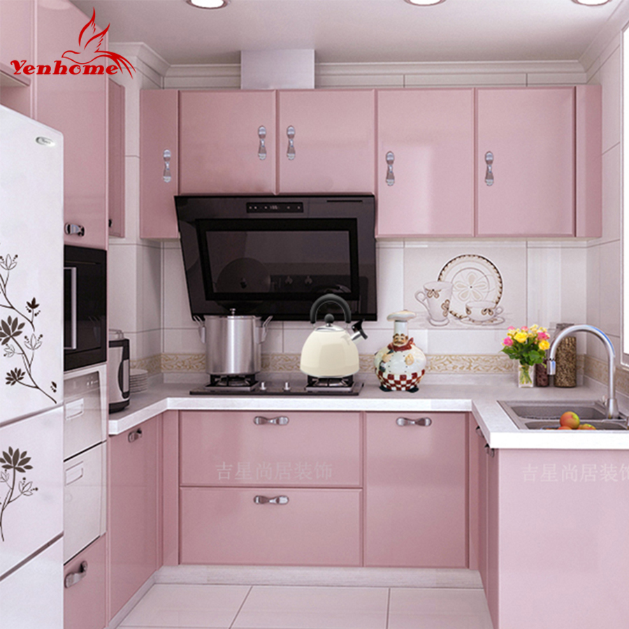 Gloss White Kitchen Cupboard Cover Self Adhesive Pvc Wall Paper Wall Sticker Wallpaper Accessories Home Garden Aeromodelling Or Id