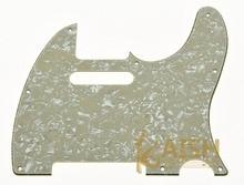 Aged  Pearl  Guitar Pick Guard Scratch Plate Fits TL Guitar