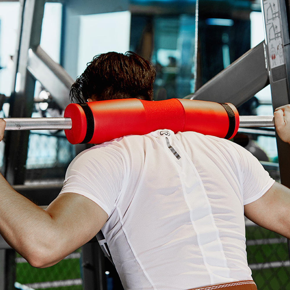 Black Barbell Pad Squat Bar Gym Fitness Neck Weight Protect Shoulder Liftin B9L3