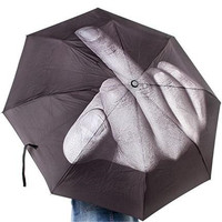 Creative Gifts Middle Finger Umbrella Trend Fashion Umbrellas Adorable Personalized Umbrellas New Design Folding Umbrella
