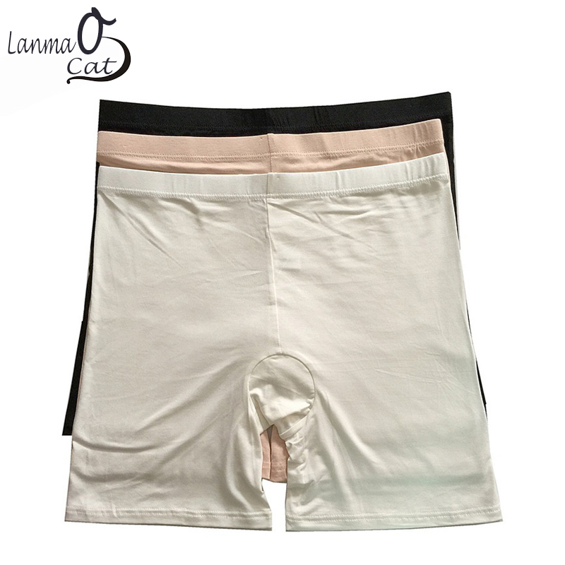 2 PCS Summer Pants Boyshort Underwear For Women Or Lady Inner Underpant Boyshorts   Panties   Boxer 2XL 4XL Free Shipping