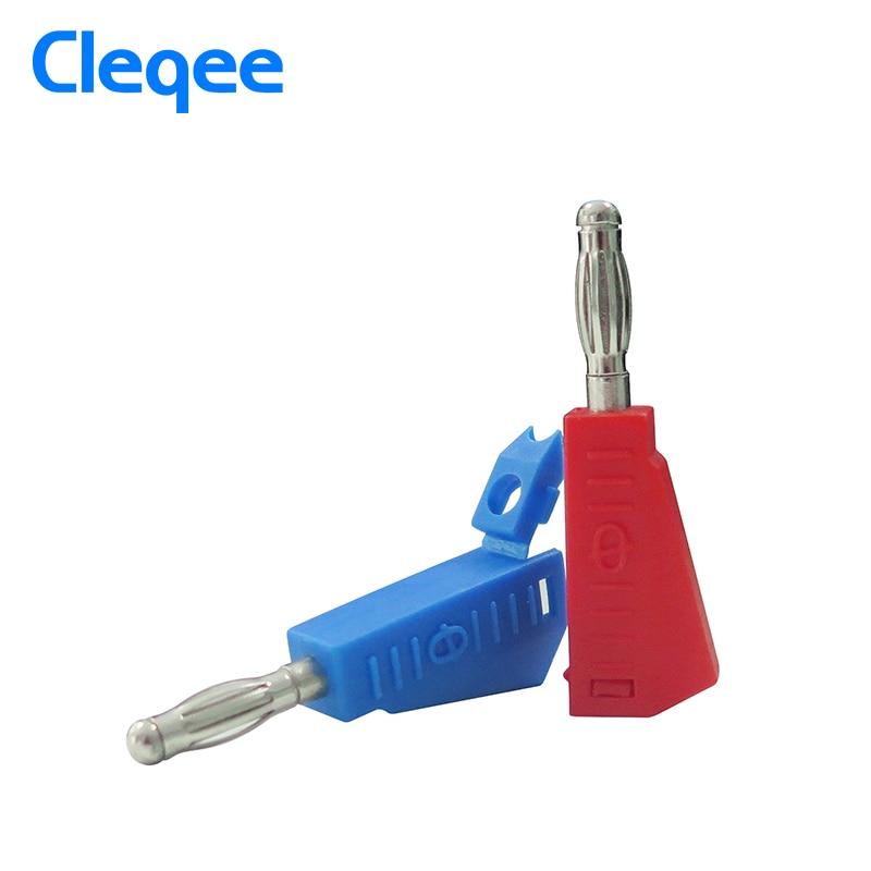 Cleqee P3002 10 db 4 mm-es egymásra rakható nikkel bevonatú - Mérőműszerek - Fénykép 3